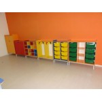WARDROBE WITH ROUNDED CORNERS CM. 100 X 40 X 105,5 (H)
