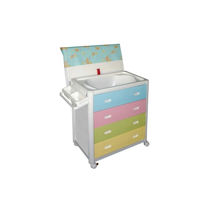 MOBILE BABY BATH/CHANGING TABLE ARIEL CM.