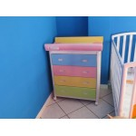 MOBILE BABY BATH/CHANGING TABLE ARIEL CM. 77x54x83 (H)