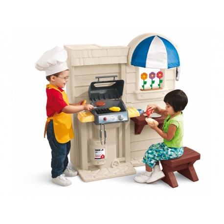 kitchen grill cm 79x50x106 h play casoria rh playcasoria it walk in play kitchen with grill play kitchen set with grill