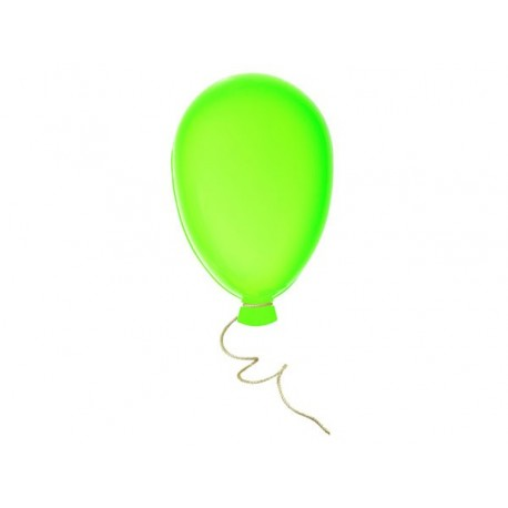 DECORATION GREEN BALLOON CM. Ø 36x60 (H)