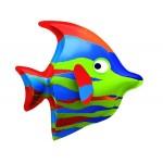DEC TROPICAL FISH VE/BLUE CM. 44x40x20 (H)