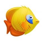 DEC TROPICAL FISH YELLOW CM. 35x40x20 (H)
