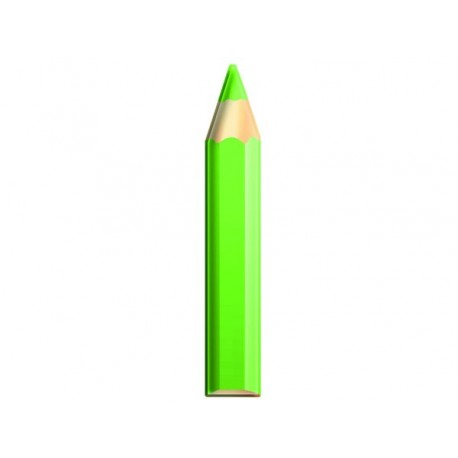 DECORATION GREEN PENCIL CM. Ø 30x180 (H)