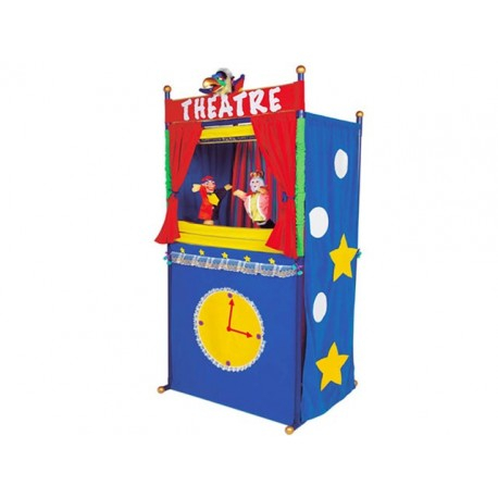 TEATR. PUPPETS AND PUPPET THEATRE PLAYHOUSE CM. 82x52x172 (H)