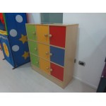 MOBILE 9 BOXES NOVA RAINBOW CM. 99x35x113 (H)