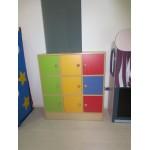 MOBILE 9 CASELLE NOVA ARCOBALENO CM. 99x35x113 (H)
