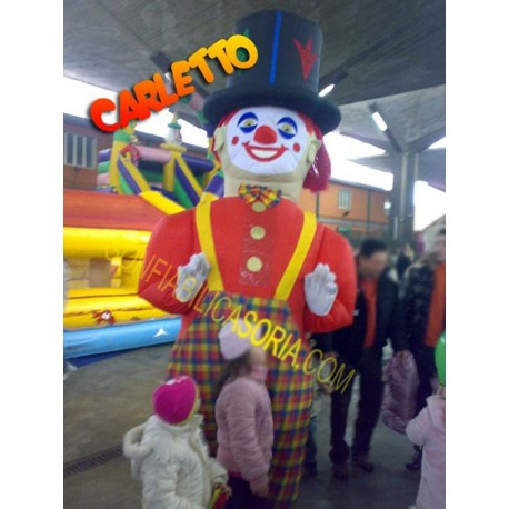 COSTUME INFLATABLE CARLETTO 3 MT (H)