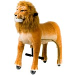 GAME CAV. ON WHEELS, PROF. LION LARGE CM. 110 X 35 X 112 (H)