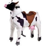 GAME CAV. ON WHEELS, PROF. COW LARGE CM. 110 X 35 X 112 (H)