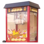 MACHINE POPCORN MAXI WITHOUT CART CM. 50 X 43 X 74 (H)