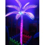 PALM TREE LIGHT COCONUT DELUXE MULTICOLOR Ø MT. 3 x 4.5 (H)