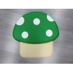 POUF MUSHROOM SOFT GREEN CM. 50x50x26 (H)