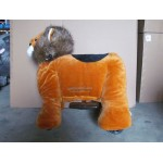 PLUSH CAV. BATTERY WITH COIN LION CM. 100 X 65 X 90 (H)