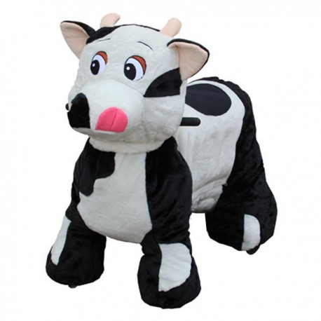 PLUSH CAV. BATTERY WITH COIN COW CM. 100 X 65 X 90 (H)