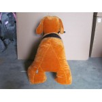 PLUSH CAV. BATTERY WITH COIN DOG CM. 100 X 65 X 90 (H)