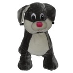 PLUSH CAV. BATTERY WITH COIN RABBIT CM. 100 X 65 X 90 (H)