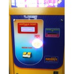 EATS TICKET 1 PANEL WITH LCD DISPLAY AND SYSTEM TAMPER PROTECTION CM. 60 X 60 X 155 (H)