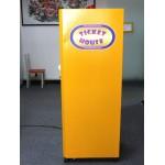 MANGIA TICKET 1 PANNELLO CON DISPLAY LCD E SISTEMA ANTISABOTAGGIO CM. 60 X 60 X 155 (H)