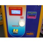 EATS TICKET 2 PANELS WITH LCD DISPLAY AND SYSTEM TAMPER PROTECTION CM. 60 X 60 X 155 (H)