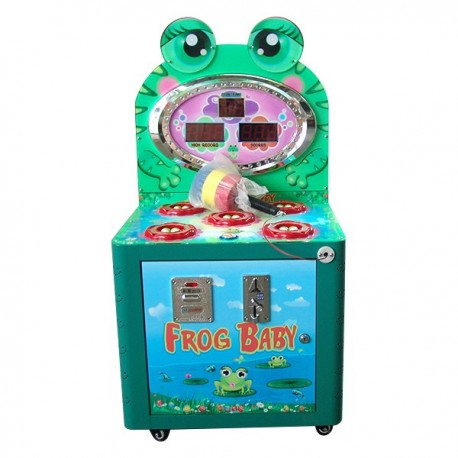 GAME MOLE FROG BABY WITH THE TICKET AND COIN MECHANISM CM. 50 X 58 X 115 (H)