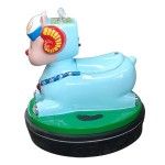 SUBJECT TO BATTERY ARIEL WITH THE JOYSTICK AND COIN MECHANISM CM. 75 X 75 X 73 (H)