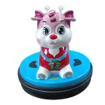 SUBJECT TO THE BATTERY BUNNY WITH THE JOYSTICK AND COIN MECHANISM CM. 75 X 75 X 73 (H)