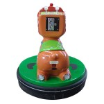 SUBJECT TO BATTERY LEON WITH THE JOYSTICK AND COIN MECHANISM CM. 75 X 75 X 73 (H)