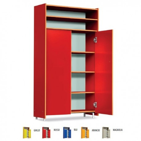 WARDROBE CLASS WITH OPEN COMPARTMENT CM. 96.5 X 40 X 190 (H)