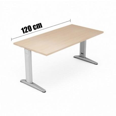 SCRIVANIA DA 120 CM. 120x80x72 (H)