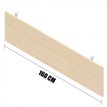 GONNA PER SCRIVANIA DA 160 CM. 160x1,8x43 (H)