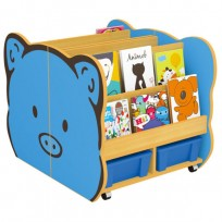 MOBILE LIBRARY PIG CM. 60x78x60 (H) -