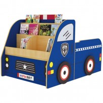 MOBILE LIBRARY POLICE CAR CM. 140x90x90 (H)