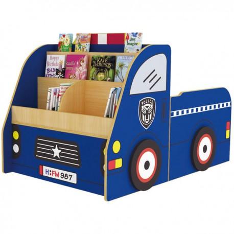 MOBILE LIBRERIA POLICE CAR CM. 140x90x90 (H)
