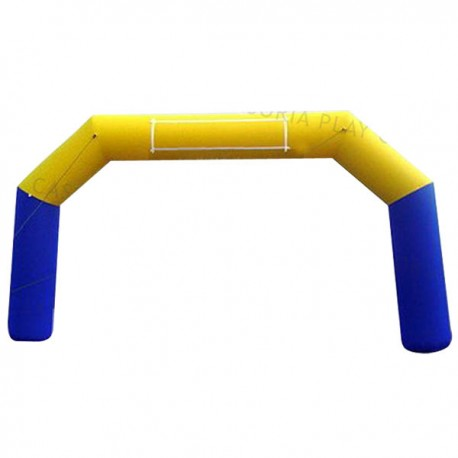 INFLATABLE ARCH 6 M BLUE-YELLOW