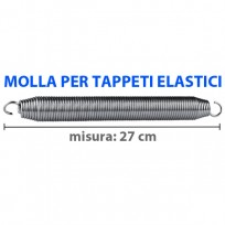 MOLLA GRANDE ZINC. PER T. ELASTICO PROF.(TPE01 - TPE02) - DIM: 27 CM
