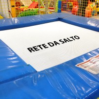 RICAMBIO - RETE DA SALTO BIANCA PER TAPPETO TPE49