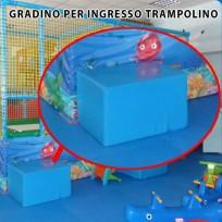 RICAMBIO - GRADINO PER INGRESSO TRAMPOLINO