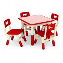 TABLE QUAD FAIRY H REG CM 60x60x48-60 (H)