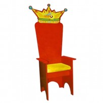 THRONE FEAST RED CM. 70 X 70 X 160 (H)