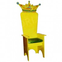 THE THRONE FEAST OF YELLOW CM. 70 X 70 X 160 (H)