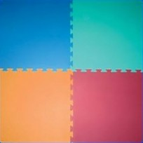TILE ANTINFORT. FOR INTERNAL INTERLOCKING PUZZLE DIM. CM. 100 X 100 X 2 (H)