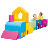 SET 8 PCS TRAIN SOFT CM. 242x50x90 (H)