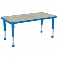 TABLE CHILDREN RETT LINEAR H REG. CM. 120x60x38-60 (H)