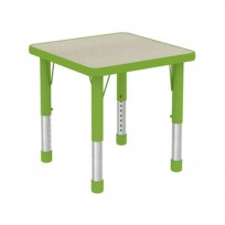 TABLE KIDS QUAD LINEAR H REG. CM. 60x60x38-60 (H)