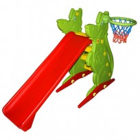 SLIDE WITH BASKET CM. 198 X 43 X 122 (H)