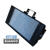 STROBO 477 LED  - BIANCO