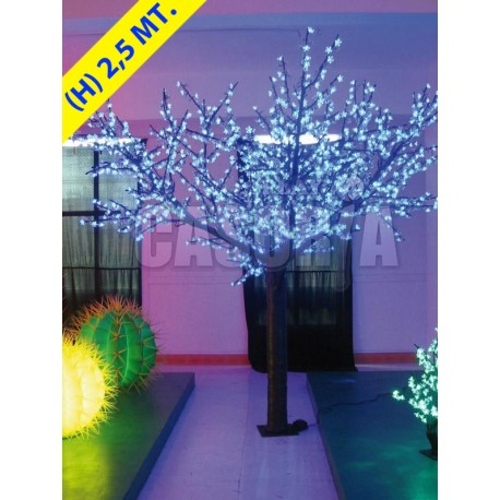CHERRY TREE 648 LED Ø MT. 1.7 X 2.5 (H) MULTICOLOR