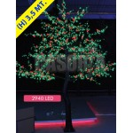 CHERRY CHERRY FRUIT 2940 LED Ø MT. 2.8 X 3.5 IN (H) GREEN RED