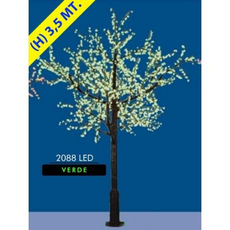 KIRSCHE CHERRY LED-MAXI-2088 LED Ø MT. 2,6 X 3,5 (H) GRÜN
